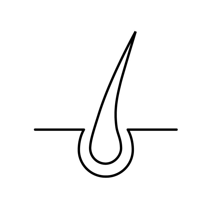 Hårfjerning ikon